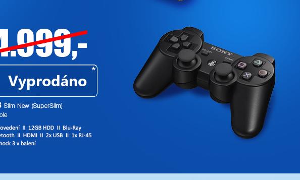 SONY PlayStation 3 Slim New