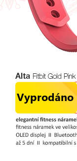 Fitbit Alta Gold Pink
