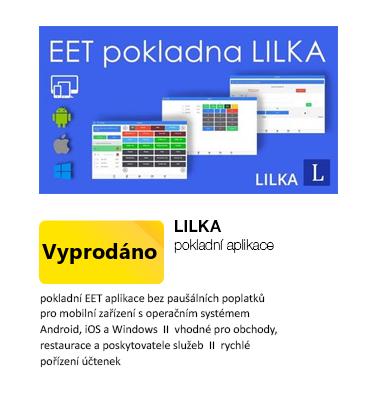 Licence pokladní aplikace LILKA
