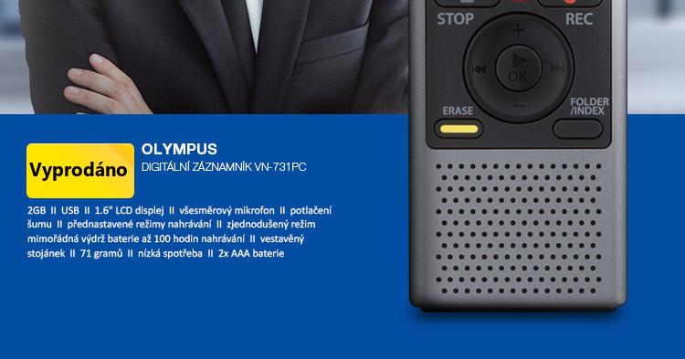 Olympus Digitální záznamník WS-831