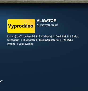 Aligator D920