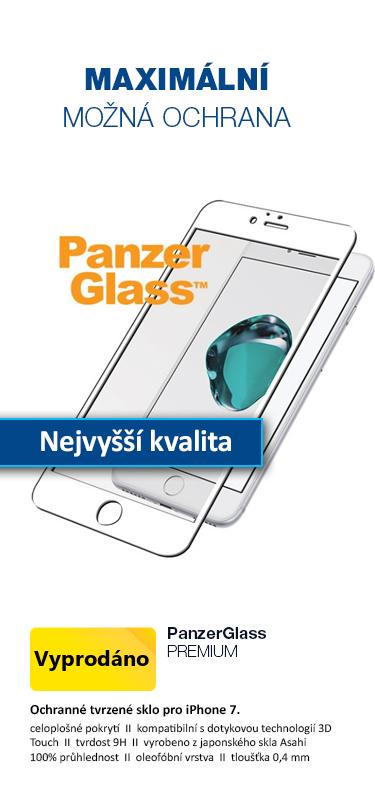 PanzerGlass PREMIUM Tvrzené sklo na celý displej pro Apple iPhone 7 bílá
