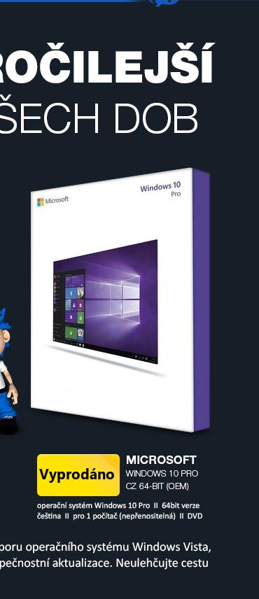 Microsoft Windows 10 Pro CZ 64-bit
