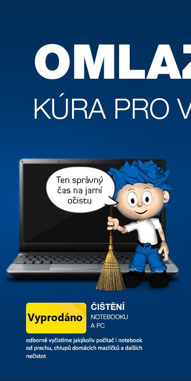 Čištění PC a notebooků