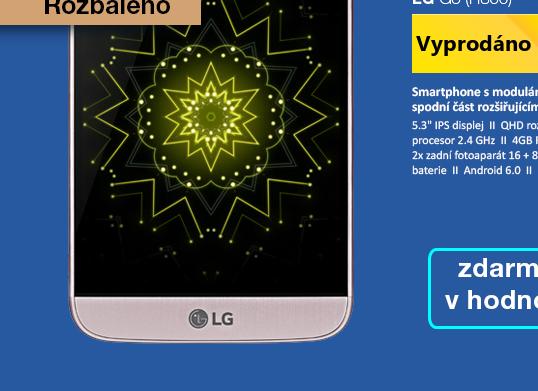 Rozbaleno - LG G5