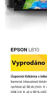 Rozbaleno - Epson L810