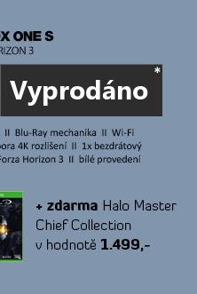 Microsoft XBOX ONE S 1TB White + Forza Horizon 3