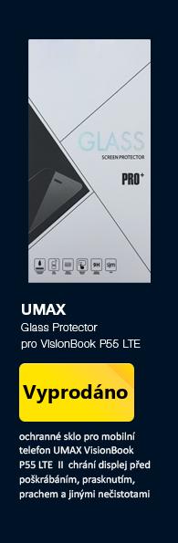 UMAX Glass Protector ochranné sklo pro UMAX Visionbook P55 LTE