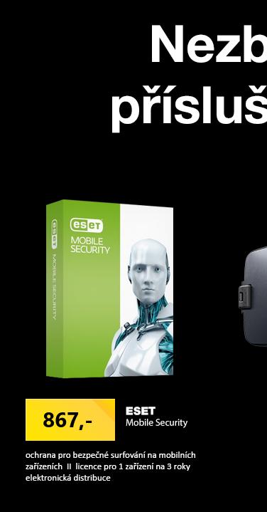 ESET Mobile Security, 1 zařízení, 3 roky, licenční kód