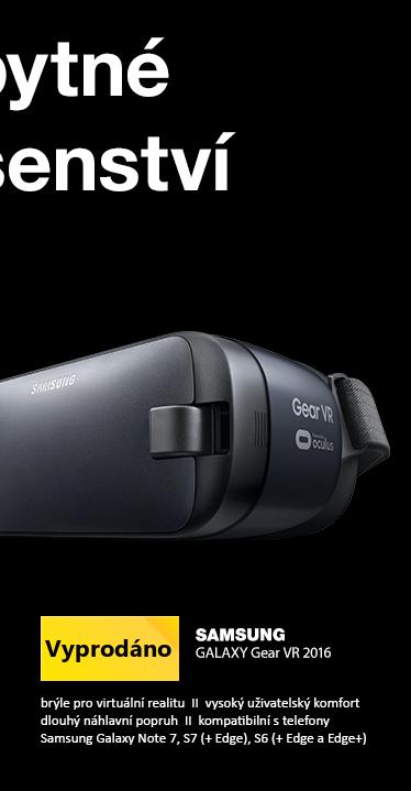 SAMSUNG GALAXY Gear VR 2016 černá / virtual reality brýle