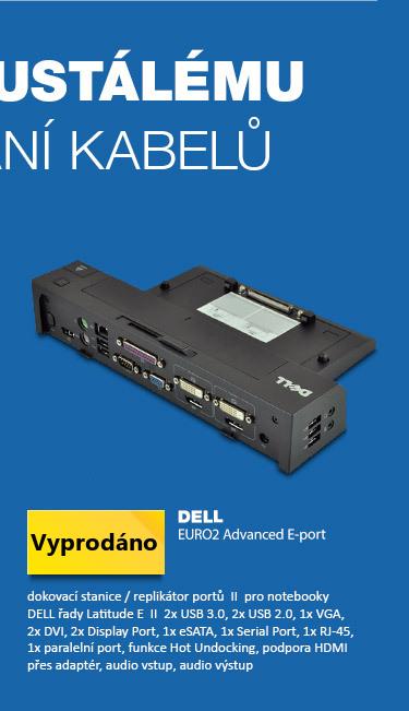 DELL EURO2 Advanced E-port replikátor pro modely Latitude řady E