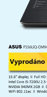 ASUS F556UQ-DM948T hnědá
