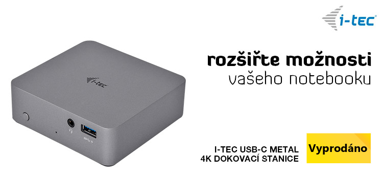 i-tec USB-C Metal 4K dokovací stanice
