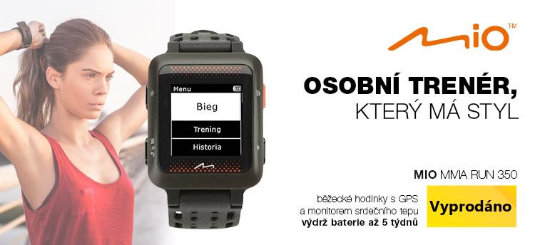 Chytré hodinky Mio MiVia Run 350