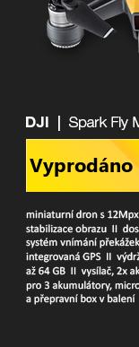 DJI Spark Fly More Combo žlutá