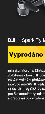 DJI Spark Fly More Combo bílá