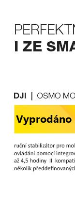 DJI OSMO Mobile černá