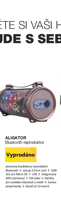 Aligator Bezdrátový Bluetooth reproduktor