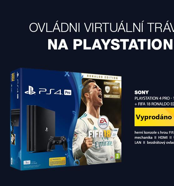 SONY PlayStation 4 - 500GB Slim Black CUH-2116A + FIFA 18