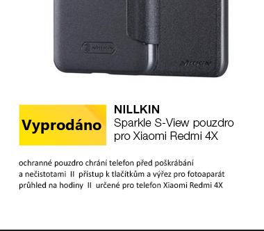 Nillkin Sparkle S-View Pouzdro pro Xiaomi Redmi 4X černá