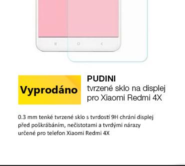 Pudini tvrzené sklo na displej pro Xiaomi Redmi 4X