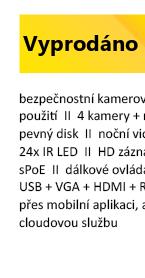 ZMODO 720P sPoE 4CH NVR+4xIP CAM 2.GEN
