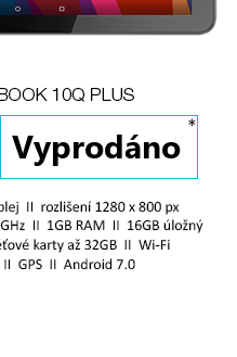 UMAX VisionBook 10Q Plus šedá