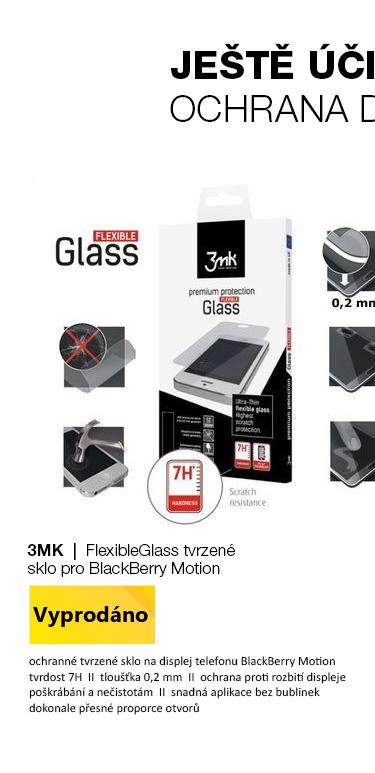 3mk FlexibleGlass Tvrzené sklo pro BlackBerry Motion