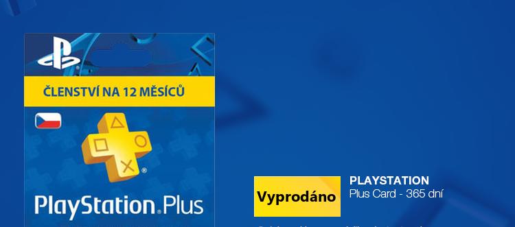 Sony Playstation Plus Card