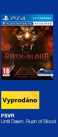 PSVR Until Dawn: Rush of Blood