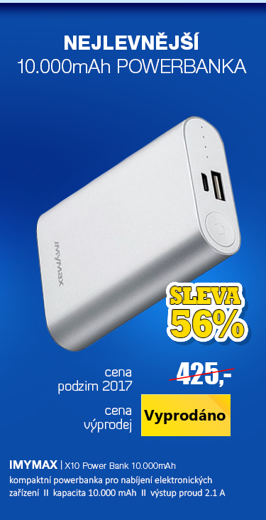 powerbanka 10000mAh