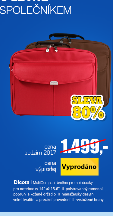 Dicota MultiCompact brašna pro notebooky