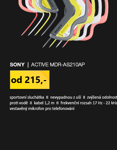 Sony ACTIVE MDR-AS210APB