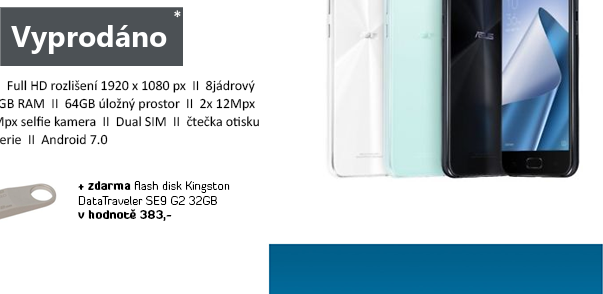 ASUS ZenFone 4 bílá