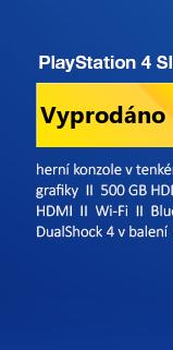 SONY PlayStation 4 - 500GB Slim Black CUH-2116A