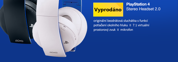 PS4 - Wireless Stereo Headset 2.0