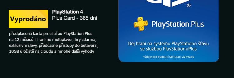 Sony Playstation Plus Card - 365 dní
