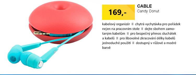 Cable Candy Donut Kabelový organizér