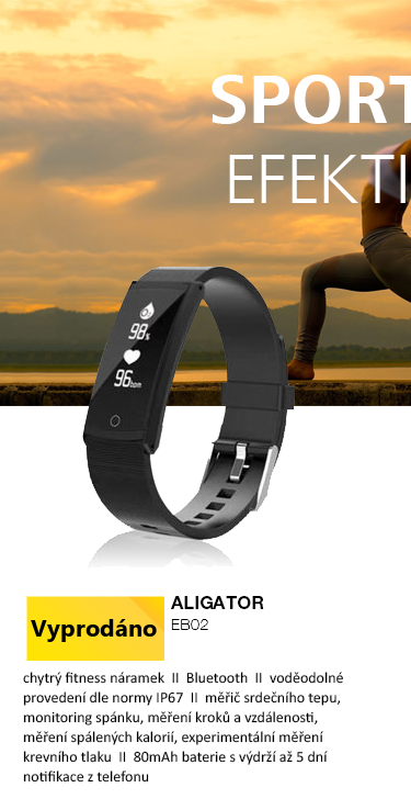 Aligator EB02 fitness náramek