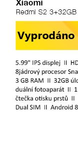 Xiaomi Redmi Note 5 4+64GB CZ LTE