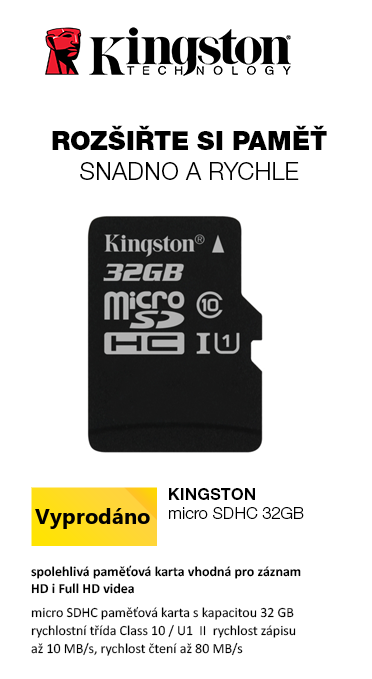 Kingston Canvas Select micro SDHC 32GB