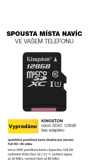 Kingston Canvas Select micro SDXC 128GB