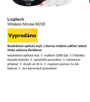 Logitech Wireless Mouse M238