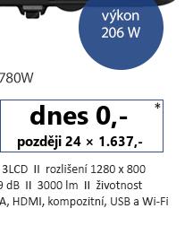EPSON EB-1780W bílá