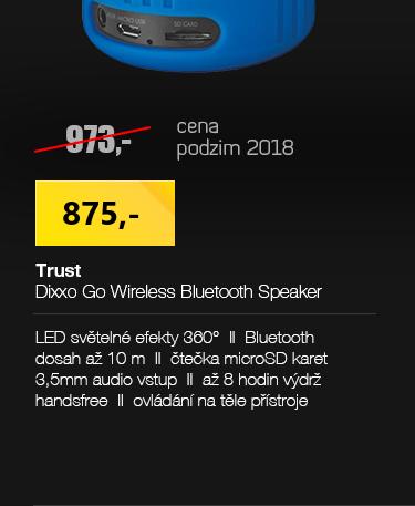 Trust Dixxo Go Wireless Bluetooth Speaker s party svitly