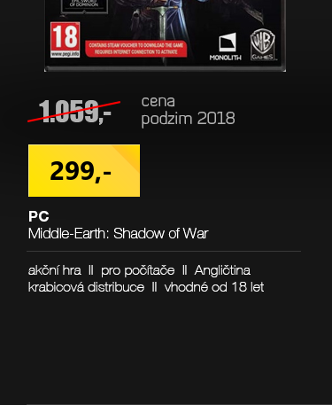 PC Middle-Earth Shadow of War