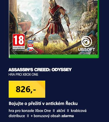 XONE Assassin's Creed Odyssey