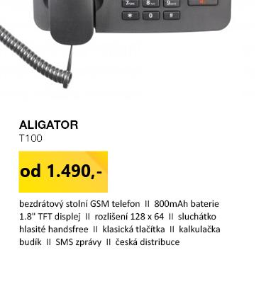 Aligator T100