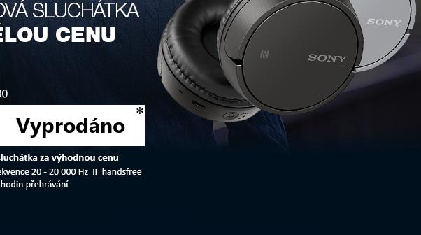 SONY WH-CH500H šedá