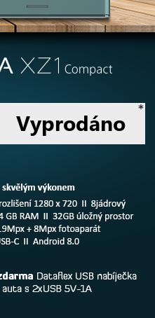 SONY Xperia XZ1 Compact modrá